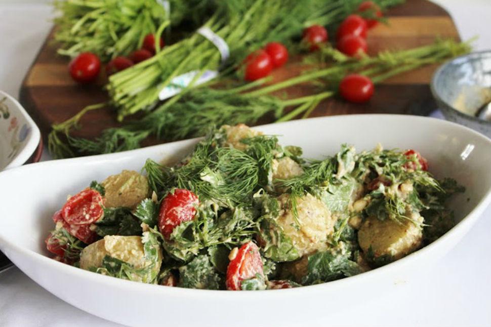 летние салаты