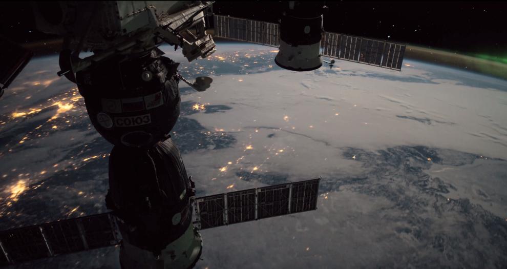 Земля с борта МКС