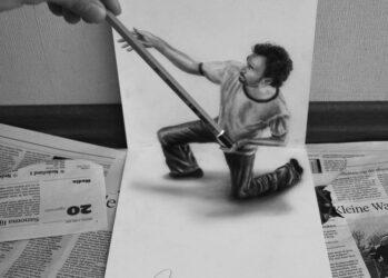 Превосходные 3D-рисунки самоучки Рамона Брюина