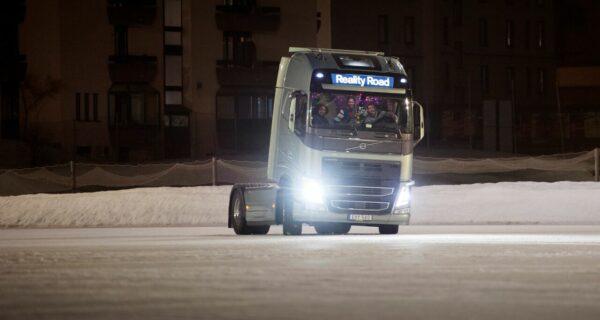 Reality Road: грузовик танцует нальду!