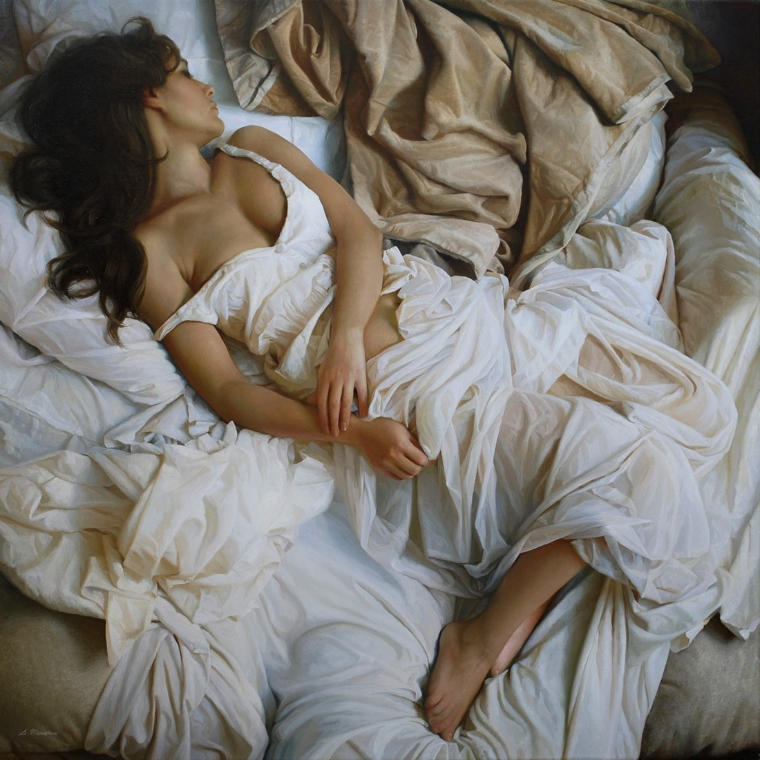 Женщина и сон картинки