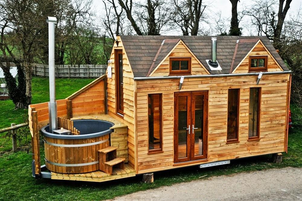 Красивые дома бани фото