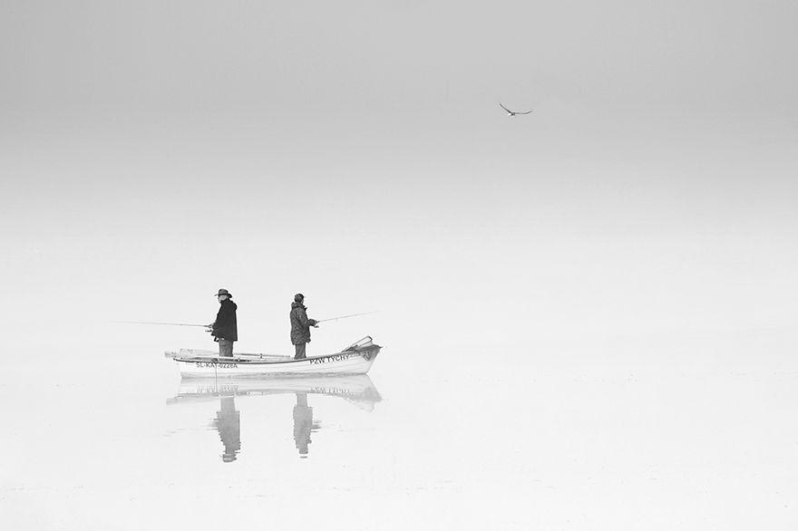 1513 - Туманная жизнь на озере