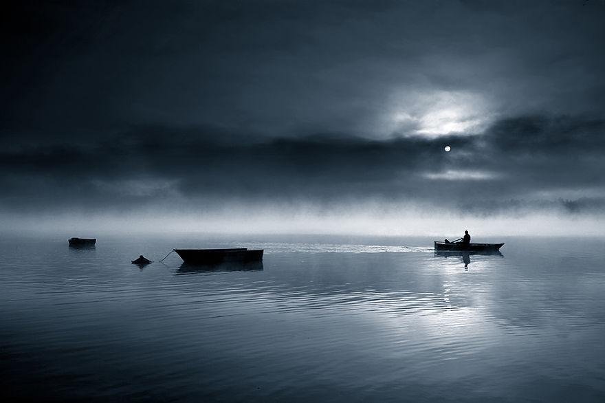 179 - Туманная жизнь на озере