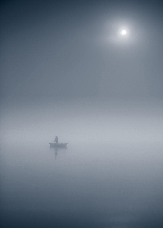 523 - Туманная жизнь на озере