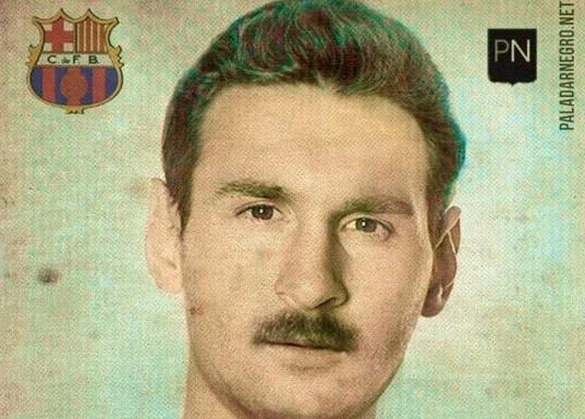Как выглядели бы знаменитые футболисты, если бы жили и играли в 50-е