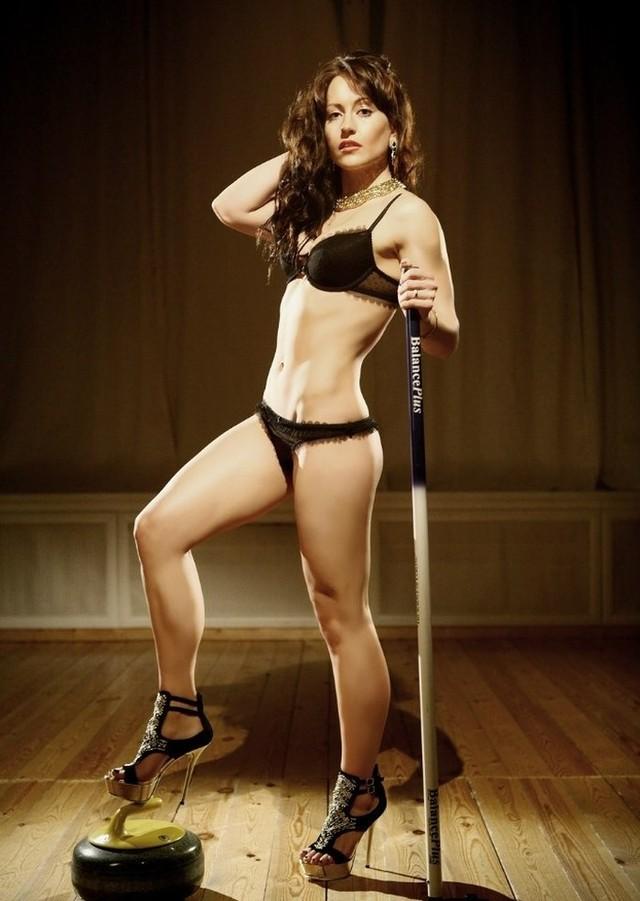 Сексуальная российская спортсменка
