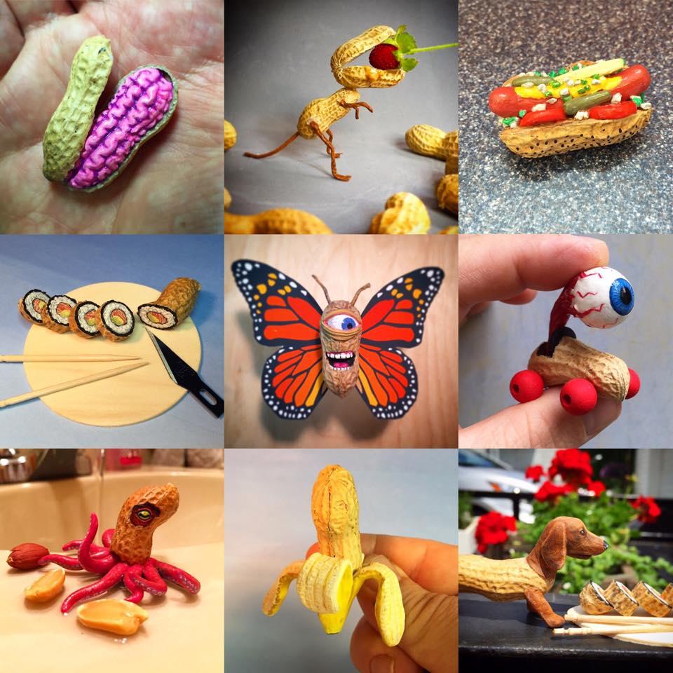 Поделки из арахиса своими руками фото 99