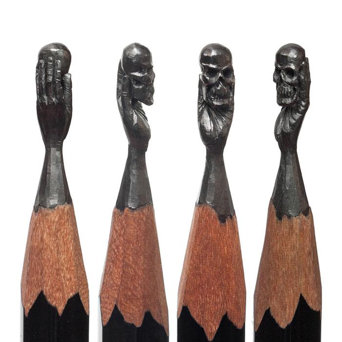 Поделки из грифеля карандаша