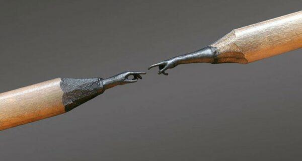 Скульптуры из карандашных грифелей поразят ваше воображение!
