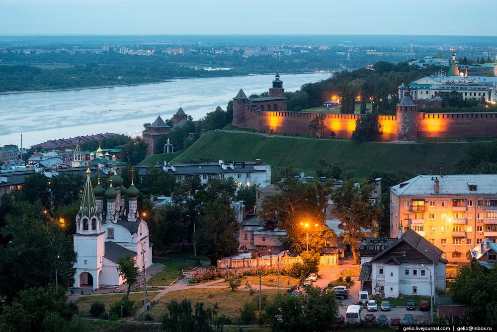 Нижний новгород фото всего города