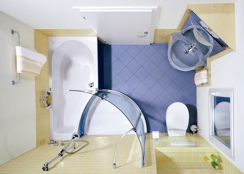 Badezimmer ideen auf kleine raum