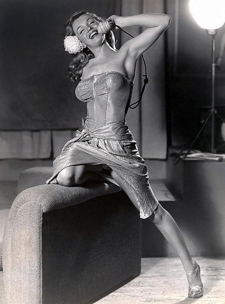 MarilynMonroe17 - 18 редких эротических фотографий Мэрилин Монро в самом начале ее карьеры