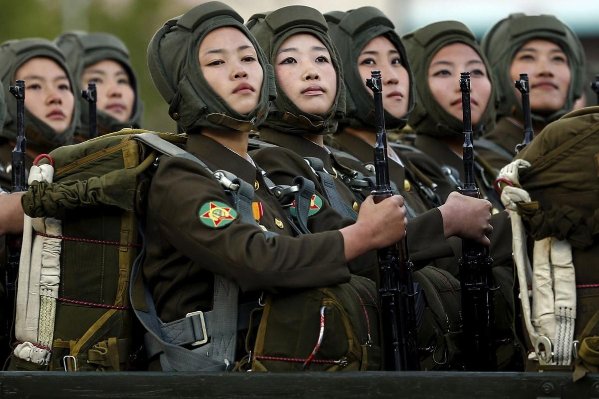 Фото военных из северной кореи