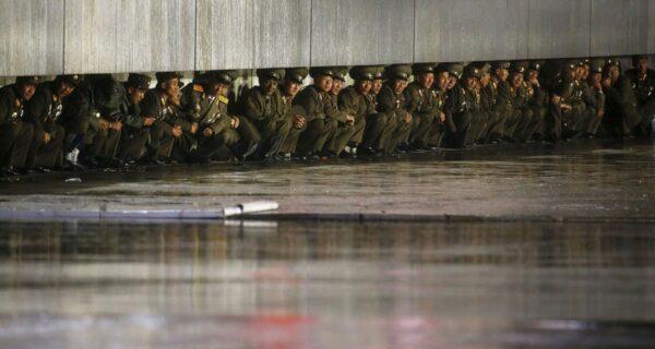 Грандиозный парад в Северной Корее