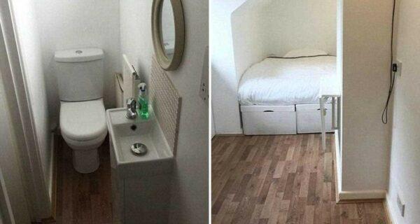 В Британии продают крошечную квартиру шириной 2 метра за 170 тыс. долларов