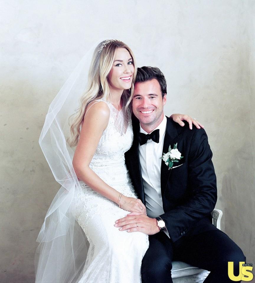 a26f965a8ac9d96 2. Лорен Конрад выходила замуж в платье от дизайнеров Марка Бэджли и  Джеймса Мишки.