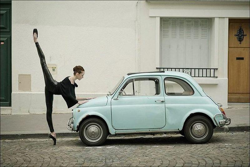 Танцы на машине картинки