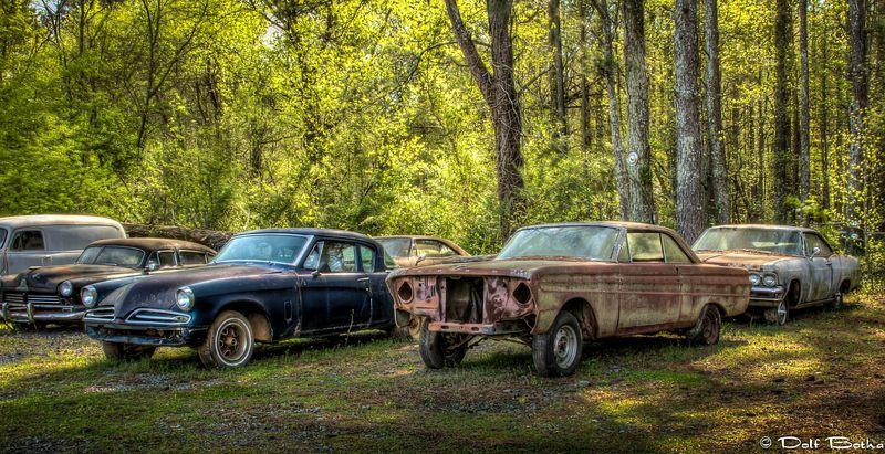 Крупнейшее в мире кладбище старых автомобилей