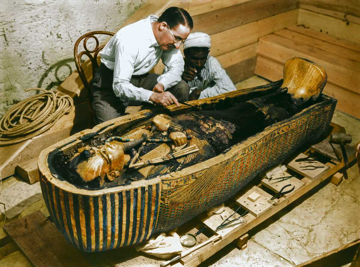 an overview of the tomb of tutankhamen and the egyptian concern for the afterlife Born circa 1341 bce, king tut was the 12th king of the 18th egyptian dynasty, in power from 1361 bce to 1352 bce during his reign, powerful advisers restored the traditional egyptian religion which had been set aside by his predecessor akhenaton, who had led the &quotamarna revolution.