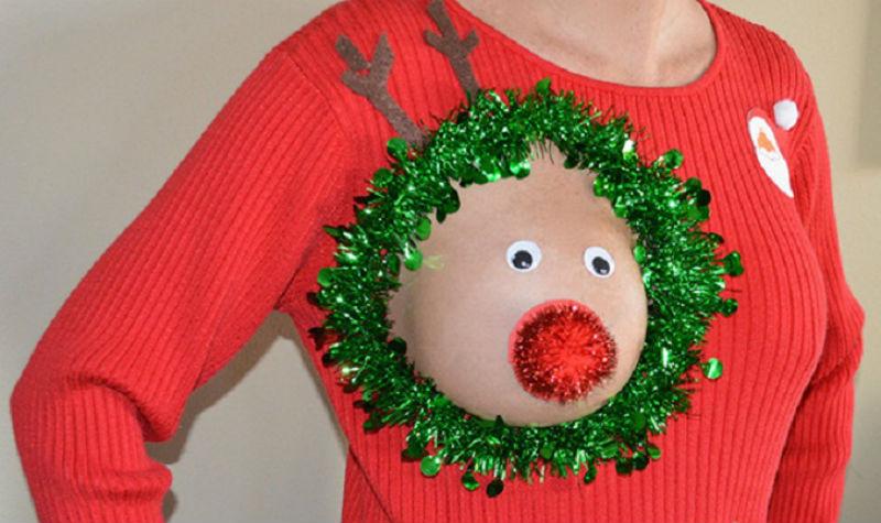 рождественские свитера которые вам захочется немедленно снять