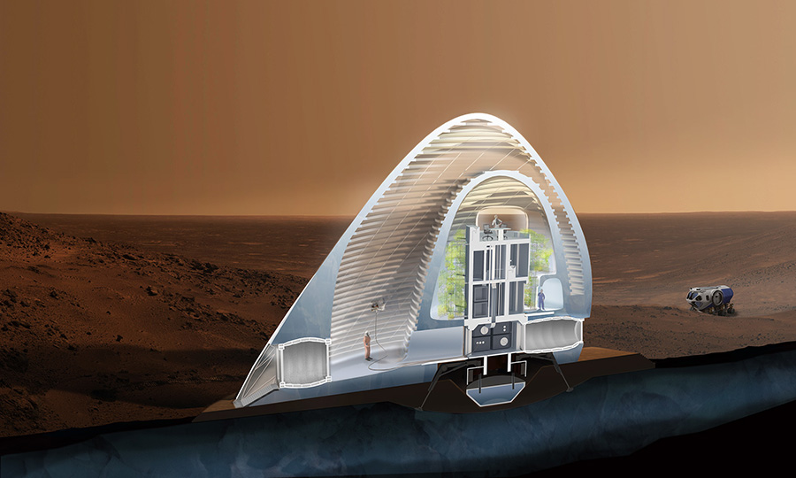 what my house would look like if i were to build on mars Imagineering on mars the first mars pioneers will not build any shelters for green house like shelters.