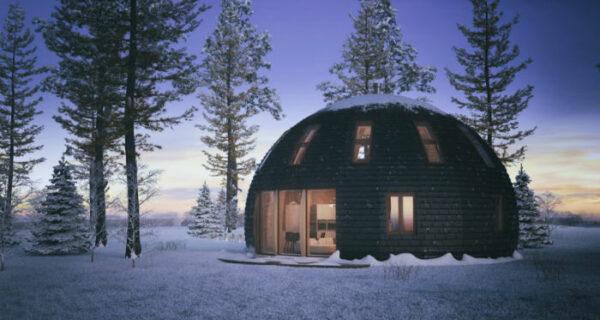 Скайдом: купольные дома из России