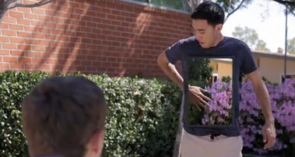 Человек-невидимка: возможности, которые дает камера Sony Action Cam
