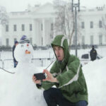 Снежный буран «Джонас» накрыл Америку