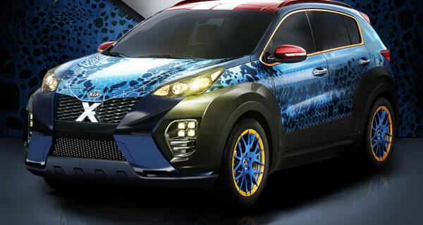 Новый Kia X‑Car — удивительная сила!