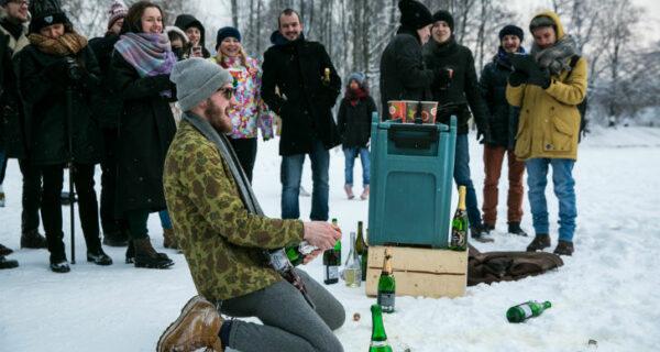 В Санкт-Петербурге прошел первый чемпионат по стрельбе пробками от шампанского