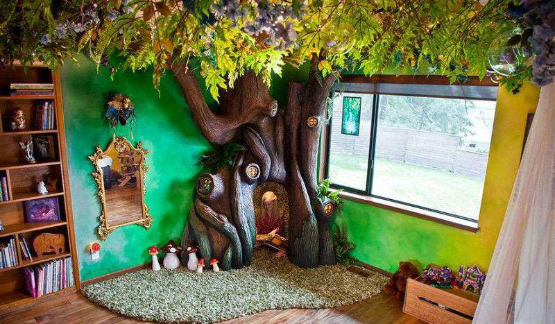 Как вырастить волшебное дерево в детской комнате