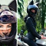 Шлем для настоящей женщины-кошки