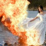 Платье в хлам — чумовой тренд свадебной фотографии