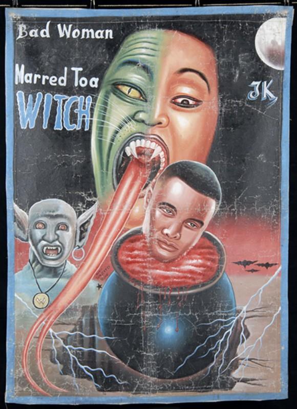 Забавные афиши к фильмам, нарисованные в Африке. Фото