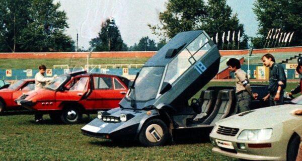 Как проходил Всероссийский слет самодельных автомобилей в Брянске в 1987году