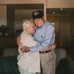 Ветеран войны нашел свою возлюбленную на другом конце света спустя 70лет