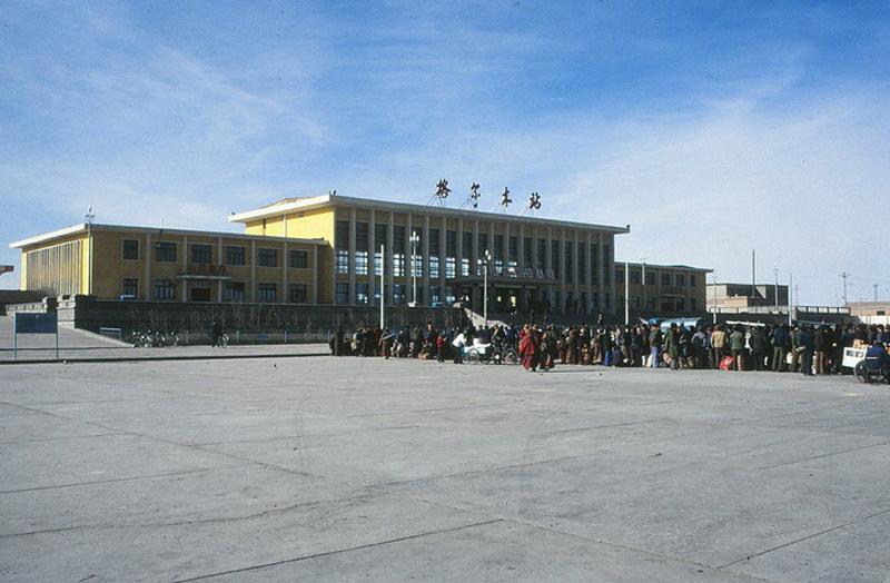 Вокзал Голмуда.