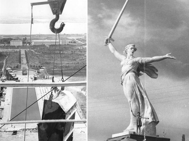 Готова! Прообразом скульптуры была Валентина Изотова (по другим сведениям — Пешкова Анастасия Антоновна, выпускница Барнаульского педагогического училища 1953 года).