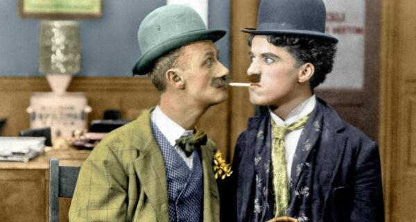 15 редких раскрашенных фотографий Чарли Чаплина, сделанных в 1910–1930‑х годах