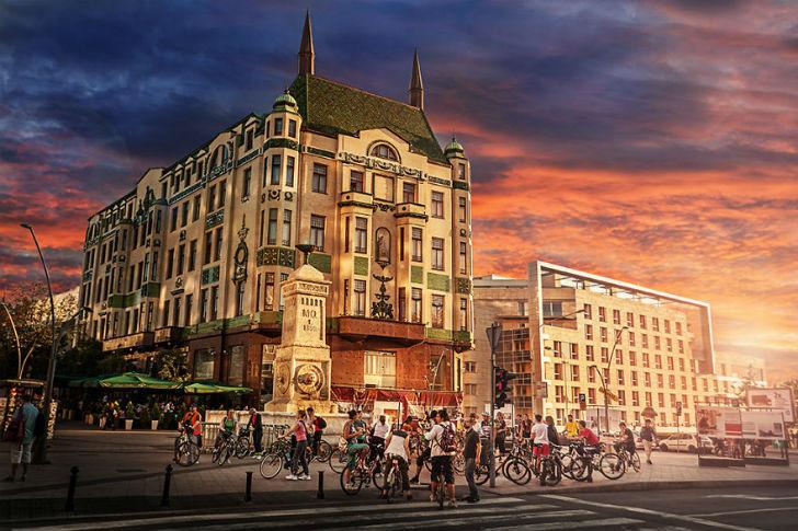 Вся красота Белграда ватмосферных фотографиях