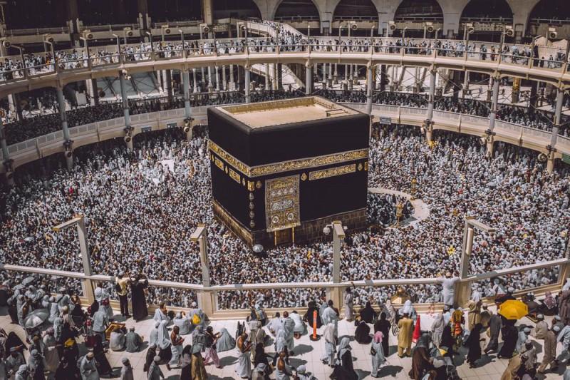 Как выглядит Мекка во время хаджа