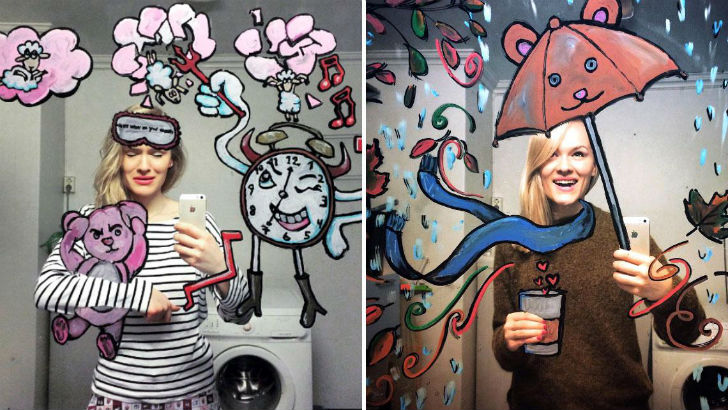 This-Woman-Takes-The-Most-Creative-Selfies-On-The-Web-F