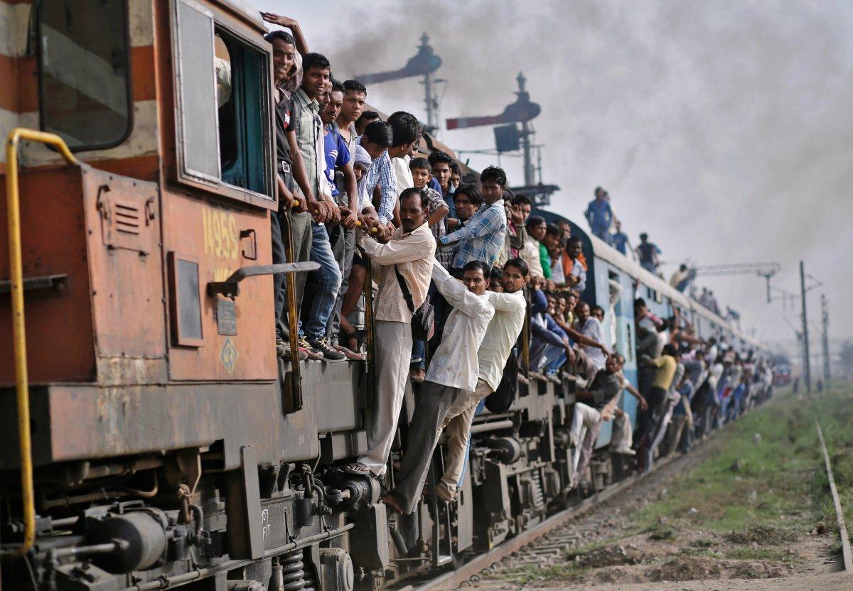 фото индийских поезд методом спокойной