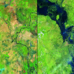 Глобальное изменение климата в фотографиях NASA: до ипосле