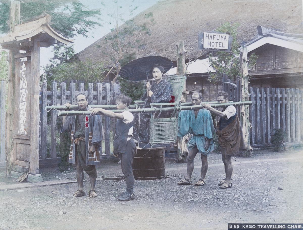 Краски Японии XIX века глазами американского фотографа