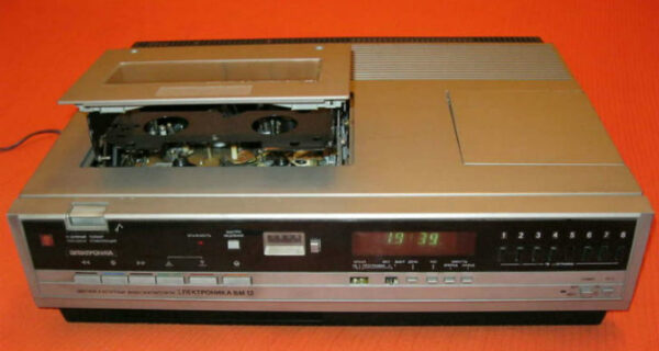 Какие видеомагнитофоны выпускали вСССР
