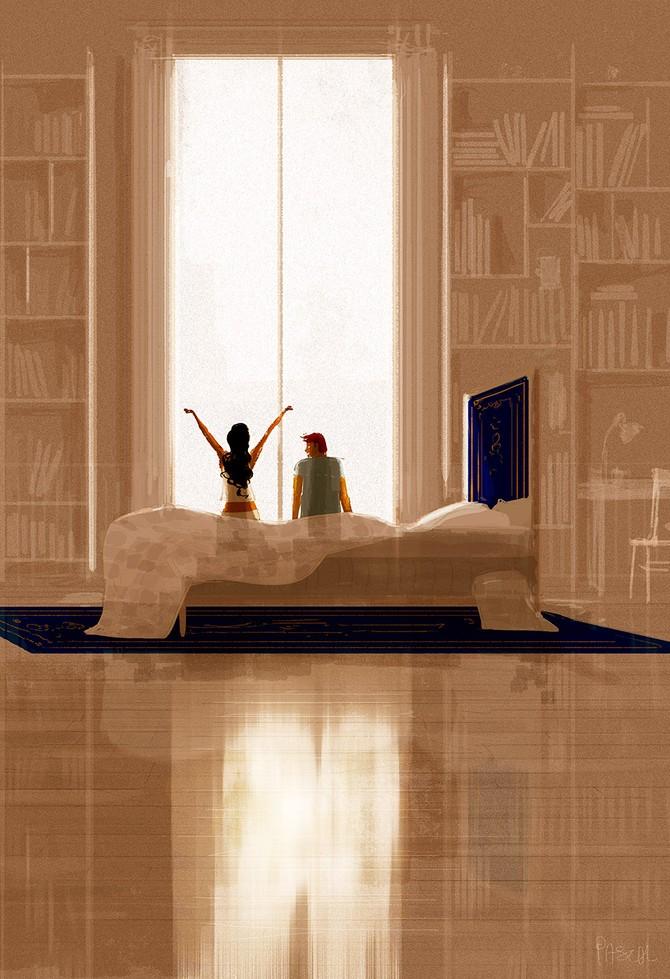 Паскаль Кэмпион и его добрые иллюстрации