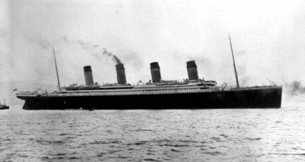 106 лет назад «Титаник» столкнулся с айсбергом