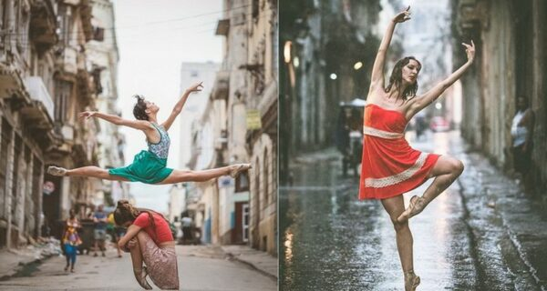 Кубинская страсть и русская балетная школа: уличные снимки танцоров